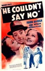 He Couldn't Say No 1938 DVD - Frank McHugh / Jane Wyman